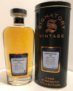 Signatory 'Cask Strength Collection' Bunnahabhain 1989 27 years