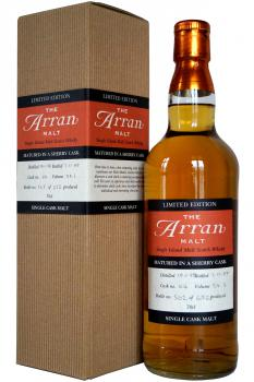 Arran - Sherry cask #44 - 5 years old
