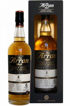 Arran - Private Cask - 6 years old peated